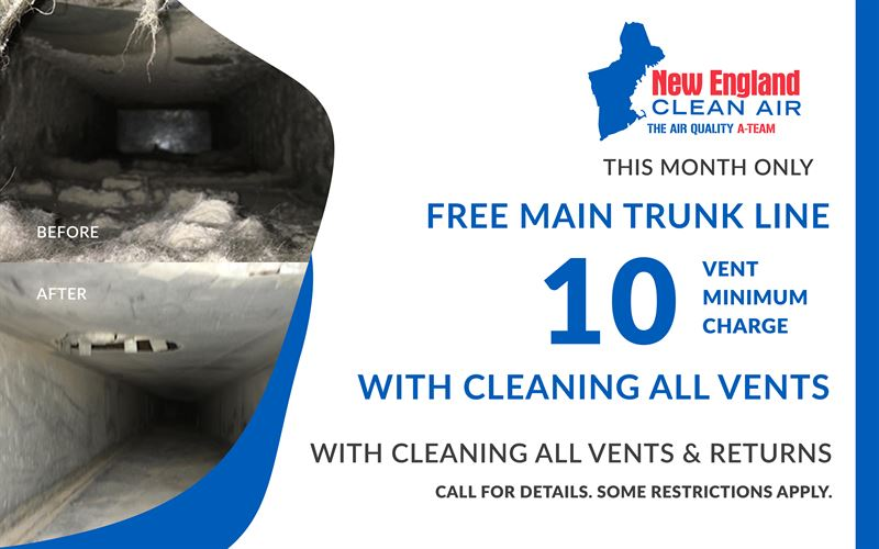 Vent Cleaning Coupon for Main Trunk Line